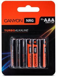 Canyon NRG alkaline battery AAA, 10pcs/pack