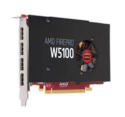 Grafická karta AMD FirePro W5100 (4GB) PCIe x16, 4xDP