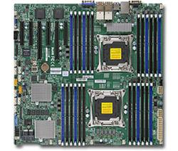SUPERMICRO MB 2xLGA2011-3, iC612 24x DDR4 ECC R,10xSATA3/8x SAS3 hw LSI 3108(PCI-E 3.0/2,3(x16,x8)PCI-E 2.0/1(x4),4x LAN,IPMI