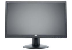 """AOC e2260Pda 22""""W LED 1680x1050 20 000 000:1 5ms 250cd DVI PIVOT repro černý"""