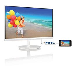 "Philips 234E5QHAW/00 23"" LED AH-IPS 1920x1080 20 000 000:1 5ms 250cd HDMI MHL bílý"