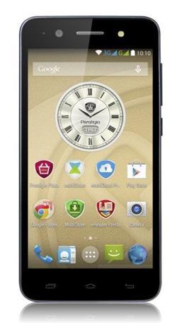 "PRESTIGIO Muze C3, 5.0"" HD IPS, Dual SIM, Android 5.0, Quad Core 1,3GHz, 1280*720, 8GB ROM,1GB RAM, 8Mpx, šedý"