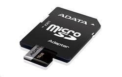 ADATA 16GB Micro SD SDHC UHS-I U3 Class 10 Premier Pro s adaptérem