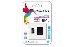 ADATA 64GB Micro SD SDHC class 10 + reader/UHS-I Premier