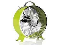 Tristar VE-5965 Kovový ventilátor v retro vzhledu, průměr 25 cm, 1.385 otáček/min., zelený