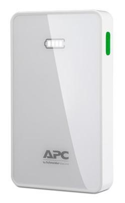APC Mobile Power Pack, 10000mAh Li-polymer, bílá ( EMEA/CIS/MEA)