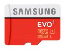 Samsung EVO Plus Micro SDHC karta 32GB + adaptér