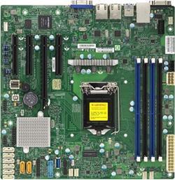 SUPERMICRO MB 1xLGA1151, iC236,DDR4,8xSATA3,PCIe 3.0 (1 x8, 1 x8 (in x16), 2 x4 (in x8)), IPMI (bulk)