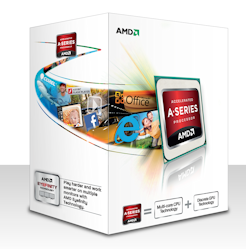 AMD A4-5300 Trinity (2core, 3.4GHz,1MB,socket FM2,65W,VGA HD 7480D) Box