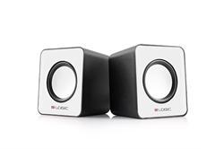 MODECOM LOGIC SPEAKERS 2.0 LS-09 WHITE