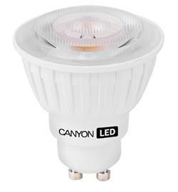Canyon LED COB žárovka, GU10, bodová MR16, 7.5W, 540 lm, teplá bílá 2700K, 220-240, 38 °, Ra> 80, 50.000 hod