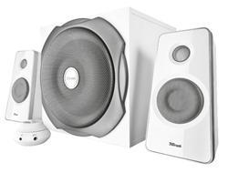 Trust Tytan 2.1 Subwoofer Speaker Set - white