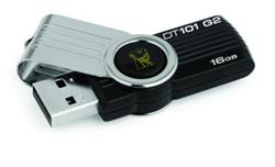 KINGSTON 16GB DataTraveler 101 G2 USB 2.0 - černý