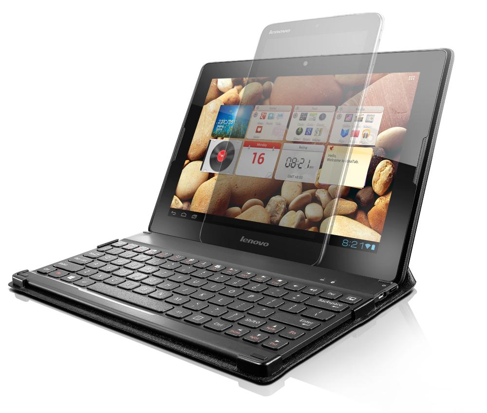 Lenovo Idea BT Multi-OS klávesnice W500 (v černém pouzdře) - ENG rozvržení