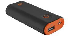 Cinco PowerBank 5200 Portable Charger - black/orange