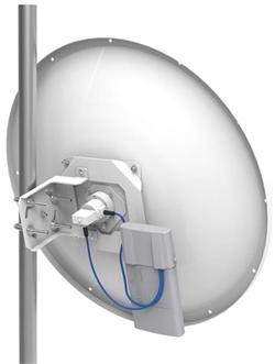 MIKROTIK RouterBOARD mANT30 (anténa 30dBi, 5 GHz, 2x RP-SMA Female)
