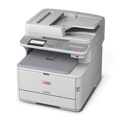OKI MC362dn farebna MFP A4 far 22str/min cier 24str/min, USB, NET, COPY, SCAN, DUPLEX, FAX