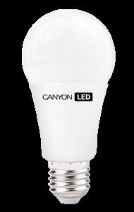 Canyon LED COB žárovka, E27, kulatá, 9W, ekv. 60W, 806 lm, teplá bílá 2700K, 220-240, 300 °, Ra> 80, 50.000 hod