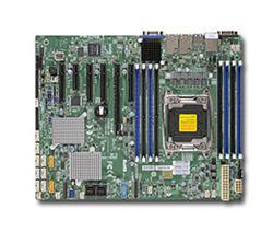 SUPERMICRO MB 1xLGA2011-3, iC612 8x DDR4 ECC, 10xSATA3/8xSAS3,sw LSI 3008, 10 xSATA3,(PCI-E 3.0/2(x8)PCI-E 2.0/1,1(x2,x4),2x LAN,I