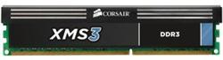 Corsair DDR3 4GB XMS3 DIMM 1600MHz CL9 černá