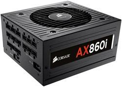 Corsair PC zdroj 860W AX860i modulární 80+ Platinum 120mm ventilátor
