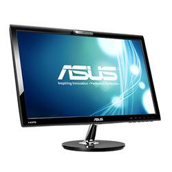 """ASUS VK228H 22""""W LCD 1920x1080 8mil:1 5ms 250cd HDMI DVI D-Sub repro webcam čierny"""
