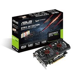 ASUS STRIX-GTX750TI-OC-2GD5 2GD5 2GB/128-bit GDDR5 DVI HDMI DP