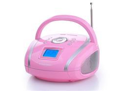 TOPCOM AudioSonic RD-1566 Stereo rádio, FM rádio,USB/SD/MP3,Aux-in,hodiny,alarm,výkon 2x2 watty