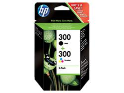 HP náplň č.300, čierna + trojfarebná