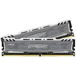 Crucial Ballistix Sport LT DDR4 16GB (Kit 2x8GB) DIMM 2400MHz CL16 DR x8 šedá
