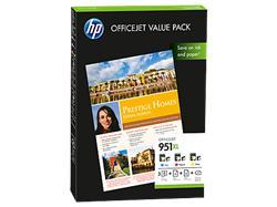 HP 951XL Officejet Value Pack, 75 listů / A4 /210 x 297 mm (CR712AE)