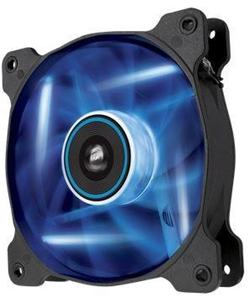 Corsair ventilátor Air Series AF140 LED Blue Quiet Edition, 140mm, 25dBA, Single pack