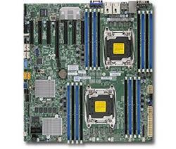 SUPERMICRO MB 2xLGA2011-3, iC612 16x DDR4 ECC R,10xSATA3/8xSAS3 LSI 3108 2GB(PCI-E 3.0/1,6(x16,x8),2x 1GbE LAN,IPMI