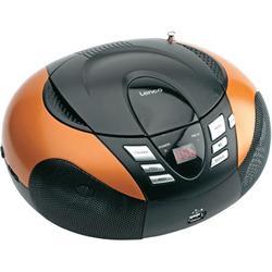 LENCO SCD-37 USB Orange - přenosný CD/MP3 přehrávač
