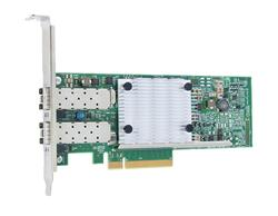QLOGIC Dual port PCIe Gen3 to 10Gb CNA Direct Attach Copper Adapter