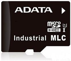 ADATA micro SD karta Industrial, MLC, 16GB, -45 až 85°C (33MB/s / 17MB/s),bulk