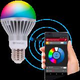 PRESTIGIO Smart LED, 4W; AC86-265V; 220lm; 3000K; patice GU10, barevná