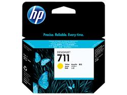 HP náplň č. 711 žltá, 29 ml