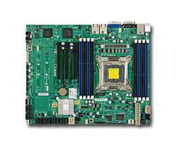 SUPERMICRO MB 1xLGA2011 iC602 8x DDR3 ECC R,SATA 1,1 PCI-E 3.0 (x16,x4),1 PCI 2.0 (x4),2xLAN,IPMI