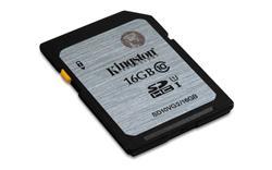 Kingston SDHC karta 16GB Class 10 UHS-I (rychlost čtení 45MB/s)
