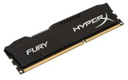 Kingston DDR3 4GB HyperX FURY DIMM 1600MHz CL10 černá