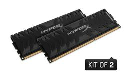 Kingston DDR3 8GB (Kit 2x4GB) HyperX Predator DIMM 2666MHz CL11 černá