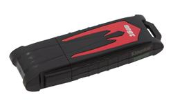KINGSTON 16GB USB 3.0 HyperX Fury (Read 90MB/s, Write 30MB/s), červený, kompatibilní s XBOX360/PS3 a PS4