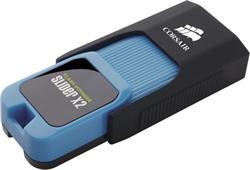 Corsair flash disk 256GB Voyager Slider X2 USB 3.0 (čtení/zápis: 200/90MB/s) modro-černý