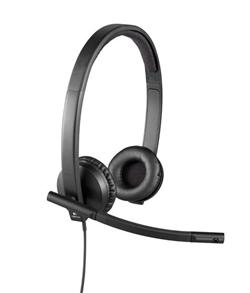 Logitech® UC Corded Stereo USB Headset H570e (Leatherette Pad) - Business EMEA