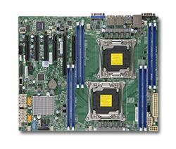SUPERMICRO MB 2xLGA2011-3, iC612 8x DDR4 ECC,10xSATA3,(PCI-E 3.0/1,3,1(x16,x8,x4)PCI-E 2.0/1(x4),2x LAN,IPMI