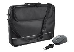 "Trust Carry Bag for 15-16"" laptops with mouse - black"