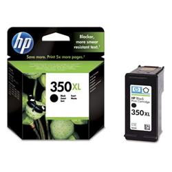 HP 350XL Black Inkjet Print Cartridge with Vivera Ink
