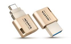 ADATA UC350 Flash 32GB, USB 3.1, Type C, OTG Gold