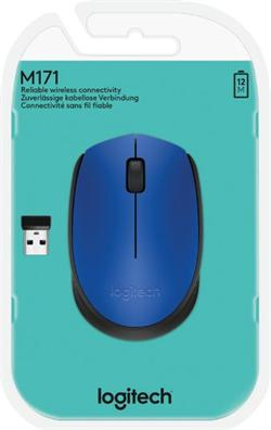 Logitech® M171 Wireless Mouse BLUE